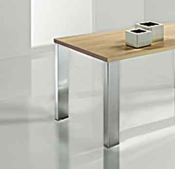 Patas cromadas para muebles idea creativa della casa e for Patas muebles cocina